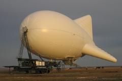 Испытания многоцелевого мобильного аэростатного комплекса «Пересвет»